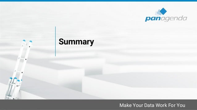 Make Your Data Work For You Summary
