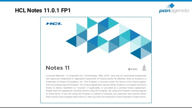 HCL Notes 11.0.1 FP1