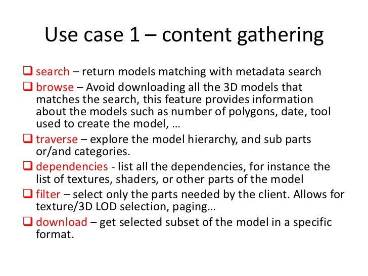 What is REST 3D ?<br />3D as a web service<br />http://rest3d request<br />Web Server<br />Client application<br />Respons...