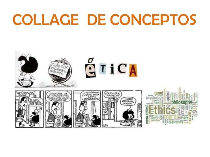 COLLAGE  DE CONCEPTOS