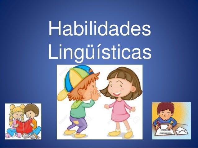 collage habilidades linguisticas