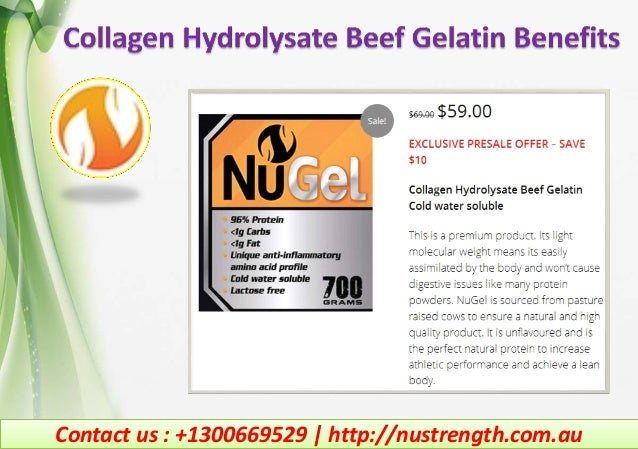 Contact us : +1300669529   http://nustrength.com.au