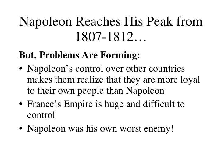 Napoleon Empire Collapses