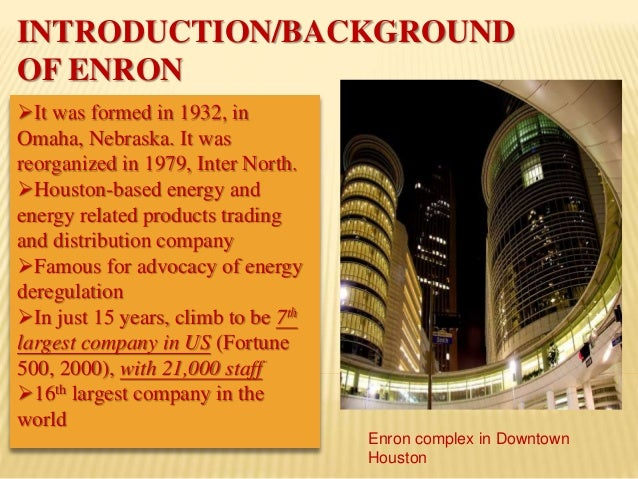 the fall of enron The rise and fall of enron is an important, complex story in its early days enron did the right things for the right reason and garnered substantial credibility.