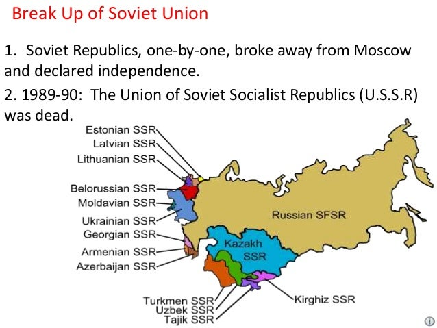 "the breakup of the soviet union He initiated process of ""transformation"" of soviet union into some form of  they  didn't win, or directly influence the soviet union's breakup, as a matter of fact."