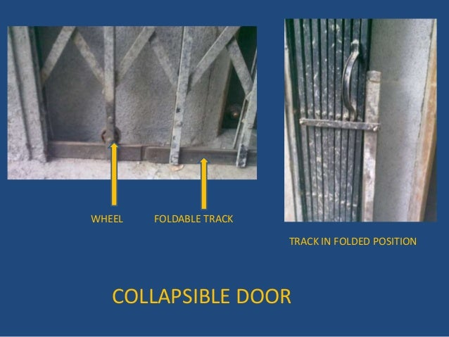 COLLAPSIBLE DOOR ...
