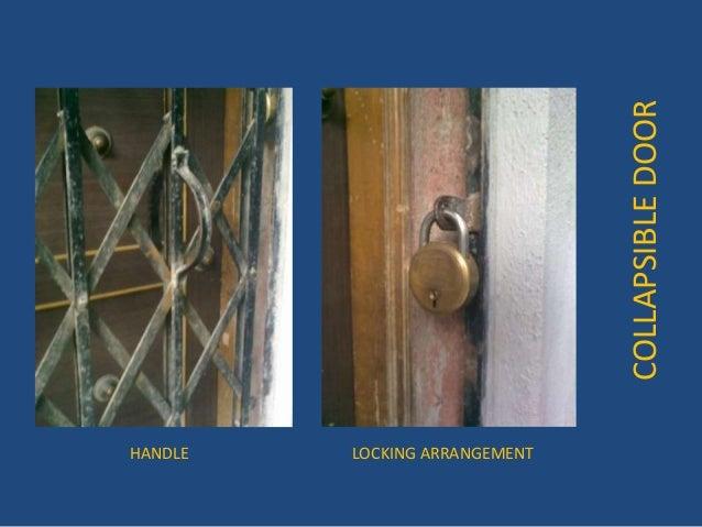 COLLAPSIBLEDOOR HANDLE LOCKING ARRANGEMENT ... & Collapsible door pezcame.com