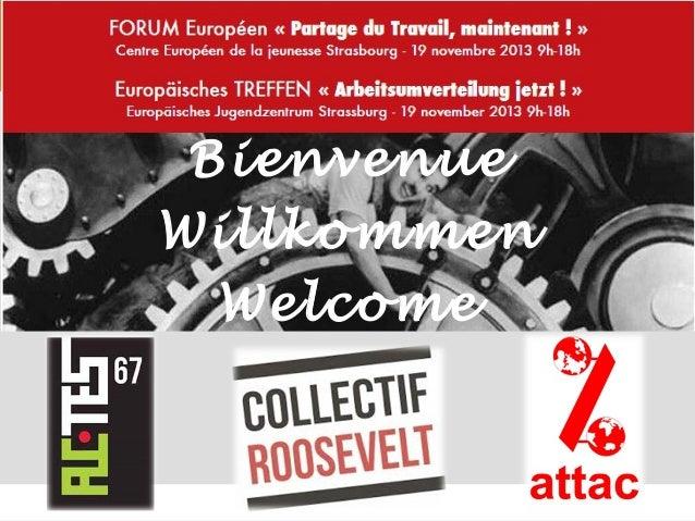 Bienvenue Willkommen Welcome  1