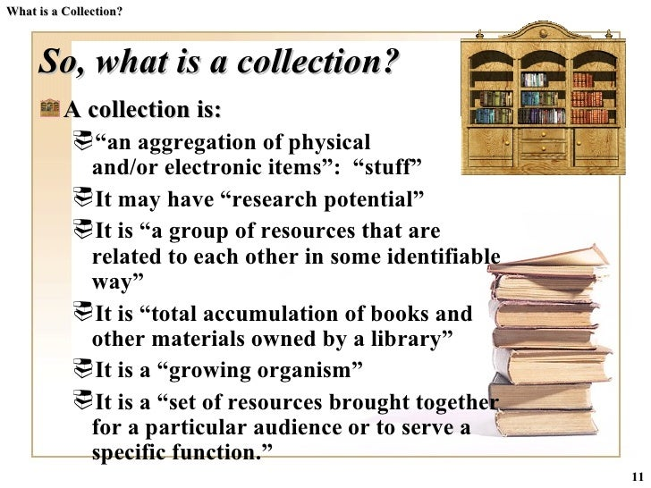 Is A Collection Of
