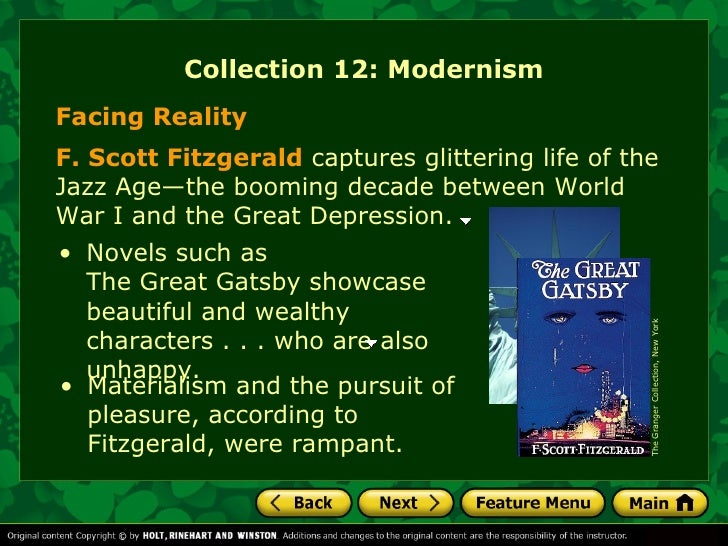the similarities between the characters in fitzgeralds the great gatsby Get an answer for 'what are some differences between f scott fitzgerald and the character of jay gatsby in the great gatsbyeconomic life, social life.