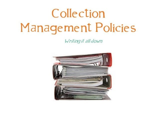 Collection management policies pci