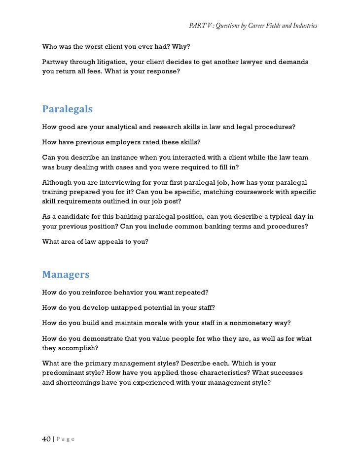COMMON JOB INTERVIEW QUESTIONS AND ANSWERS COMPILATION