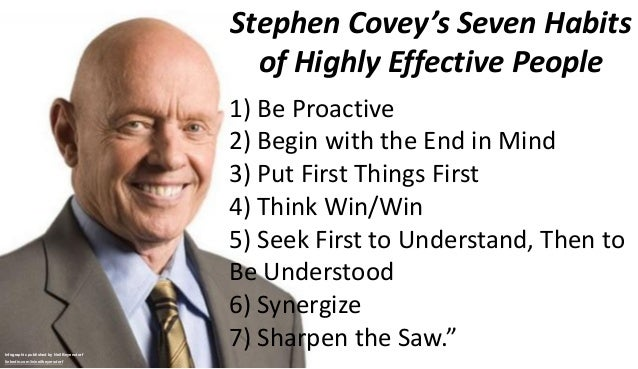 A Collection Of Quotes From Stephen Covey