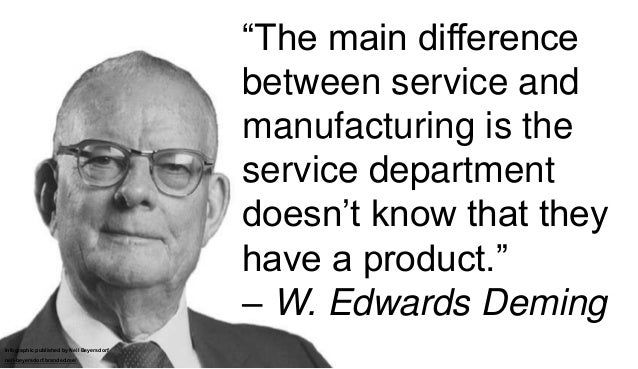 A Collection of Quotes from W. Edwards Deming Slide 3