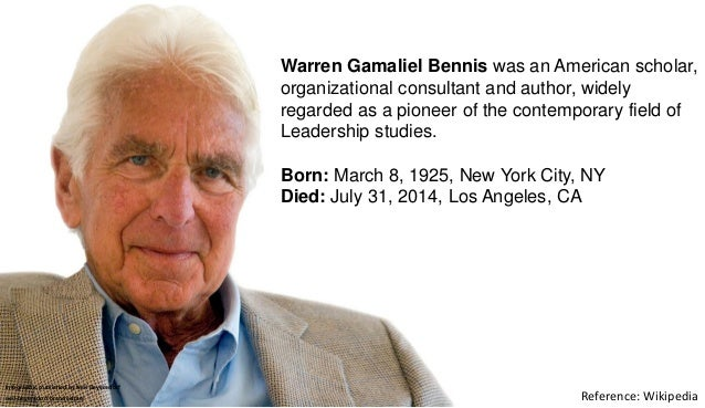 A Collection Of Quotes From Warren G. Bennis