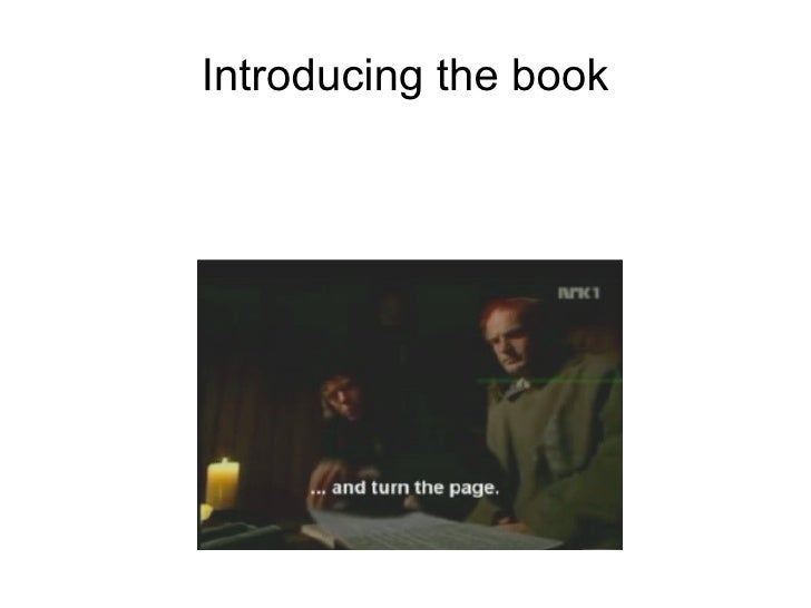 Introducing the book