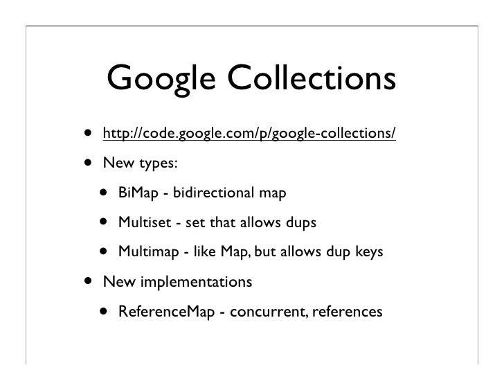 java map types