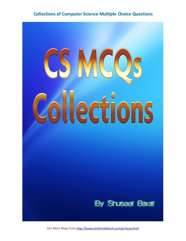 Collections of CS Multiple Choice Questions Slide 2
