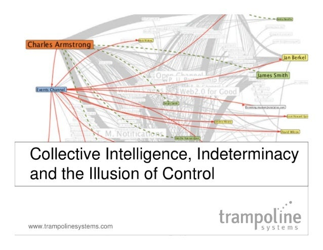 Charles Armstrong  Collective Intelligence,  indeterminacy and the Illusion of Control  www.  tram polinesyslemscorn