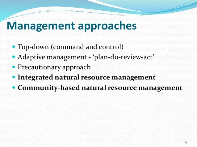 Community Based Natural Resources Management Definition