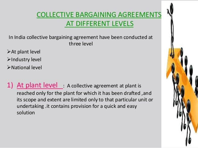 COLLECTIVE BARGAINING AGREEMENTS ...