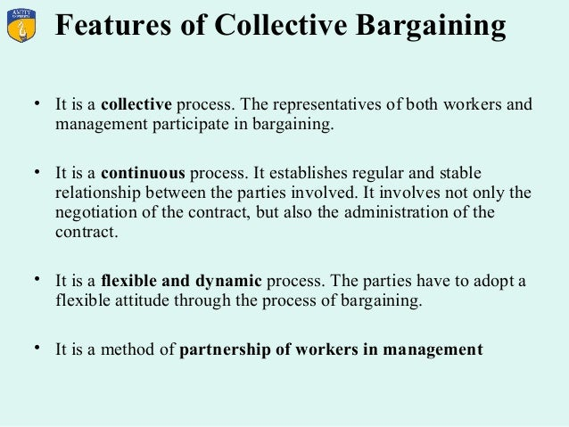 importance of collective bargaining in industrial relations