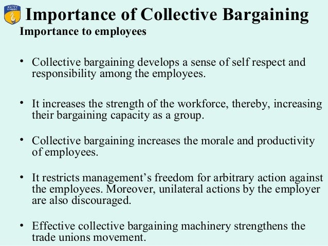 effective collective bargaining