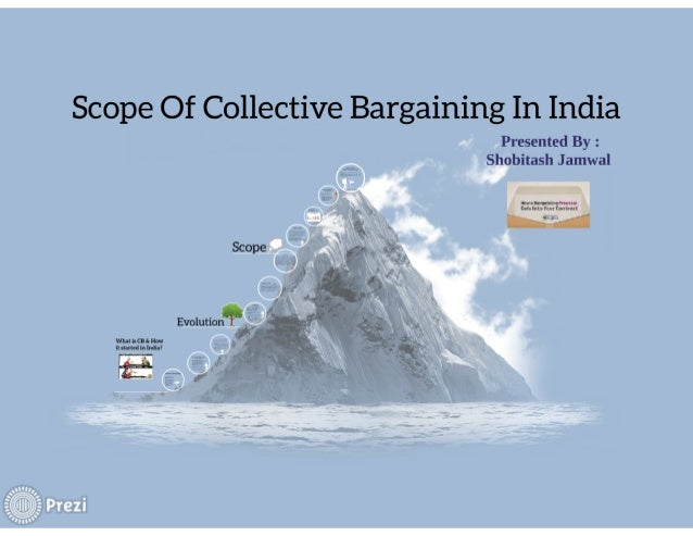 Scope Of Collective Bargaining In India  Presented By :  Shobitash Jamwal  w nu vonuxul net uuuuuuuuuuuuuuu 1:!   Scope  E...