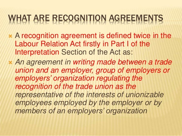 Collective Bargaining Labour Law Kenya Cba Agreements