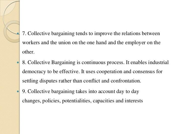 reflective bargaining