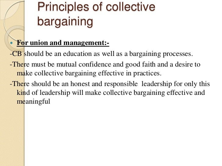 levels of collective bargaining pdf free