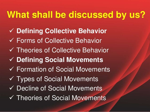 What are types of social change?