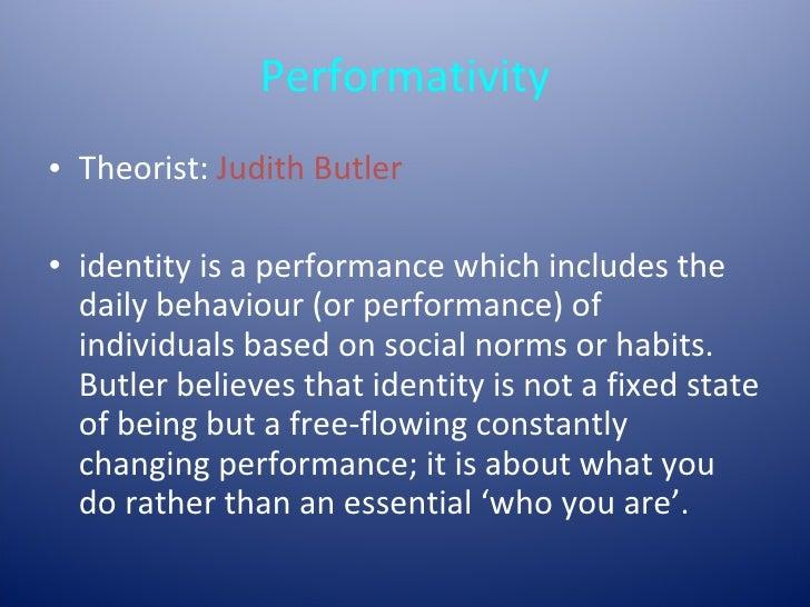 essay on gender performativity