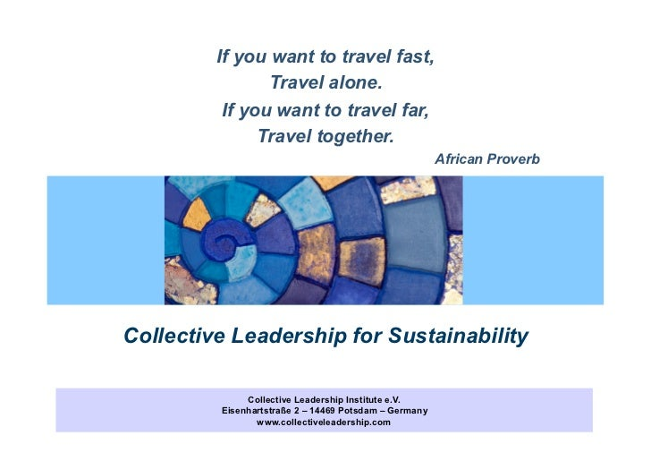 Collective leadership for sustainability cli pptx schreibgeschtzt freerunsca Image collections