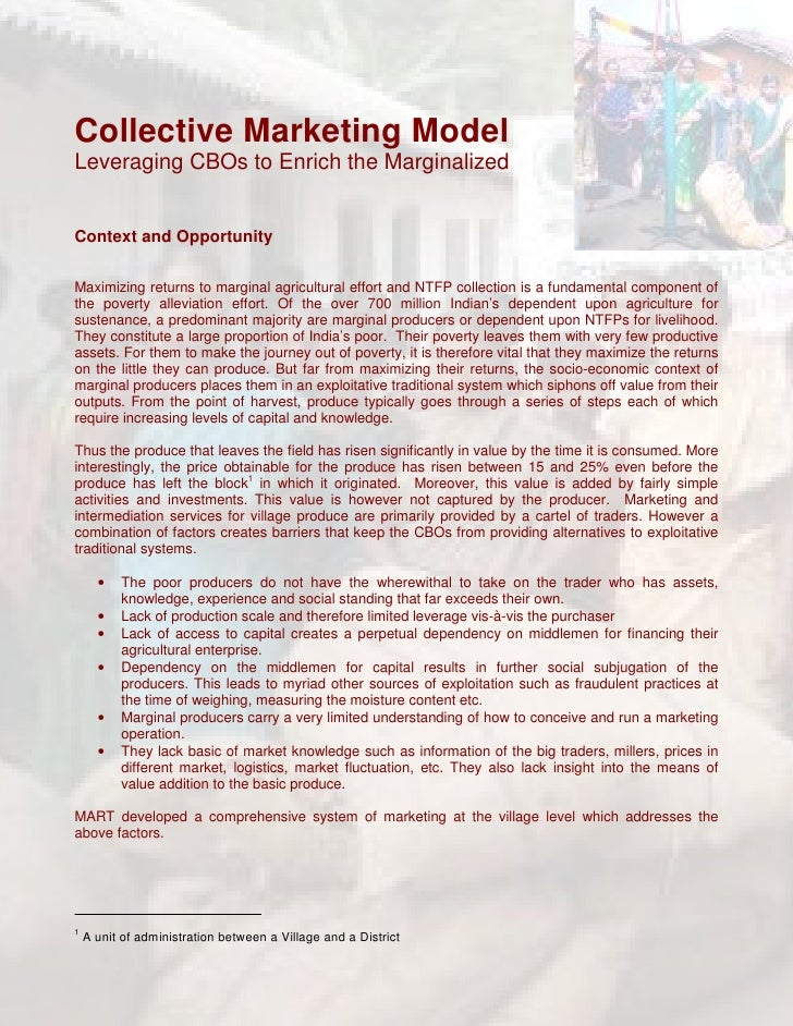 Collective marketing   write up