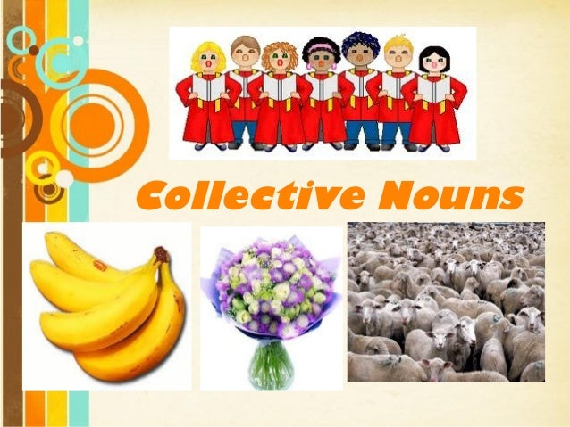 Collective Nouns  Free Powerpoint Templates  Page 1