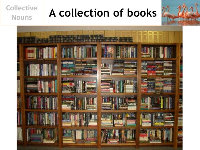 A collection of books Collective Nouns