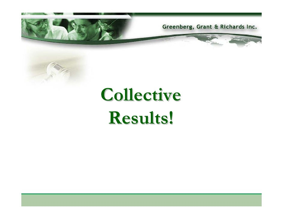 Collective  Results!