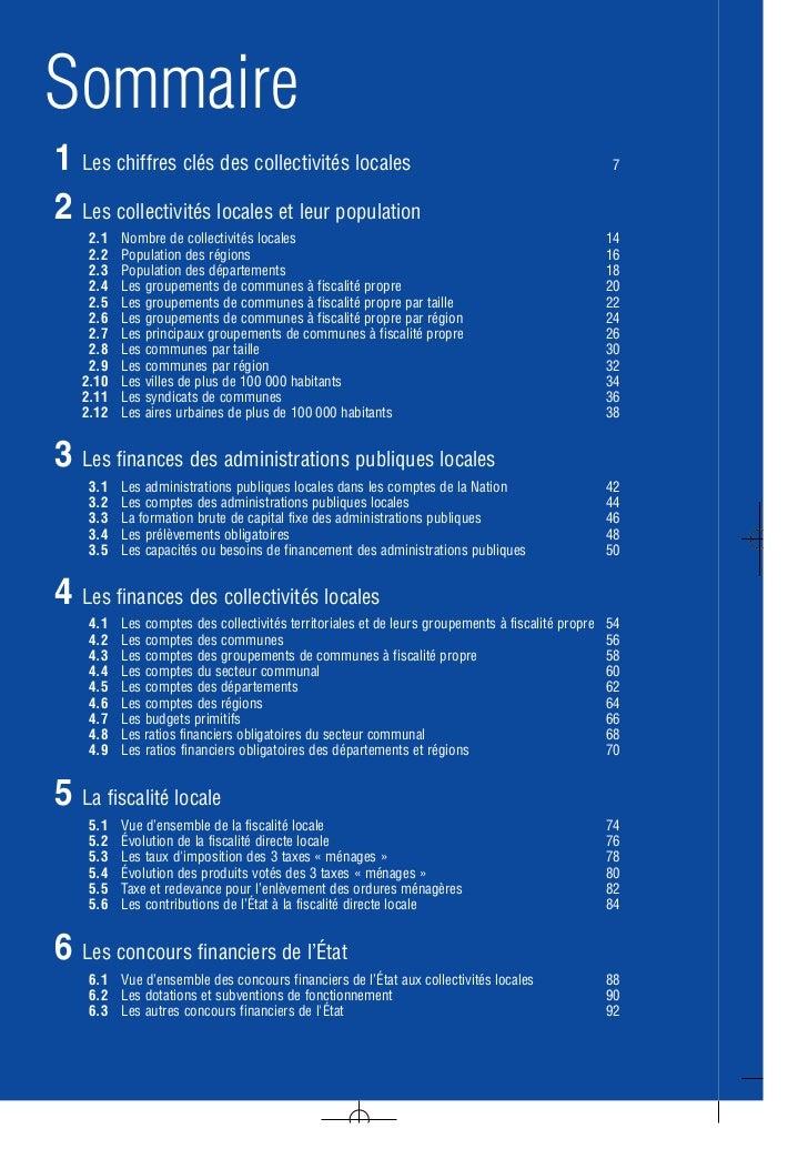 collectivit s locales en chiffres 2011 dgcl http