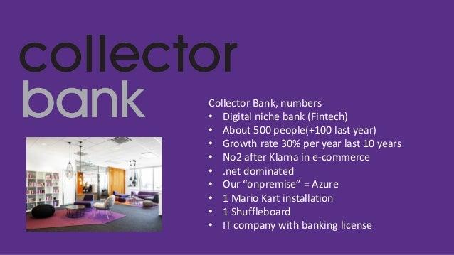 APIs at Collector Bank