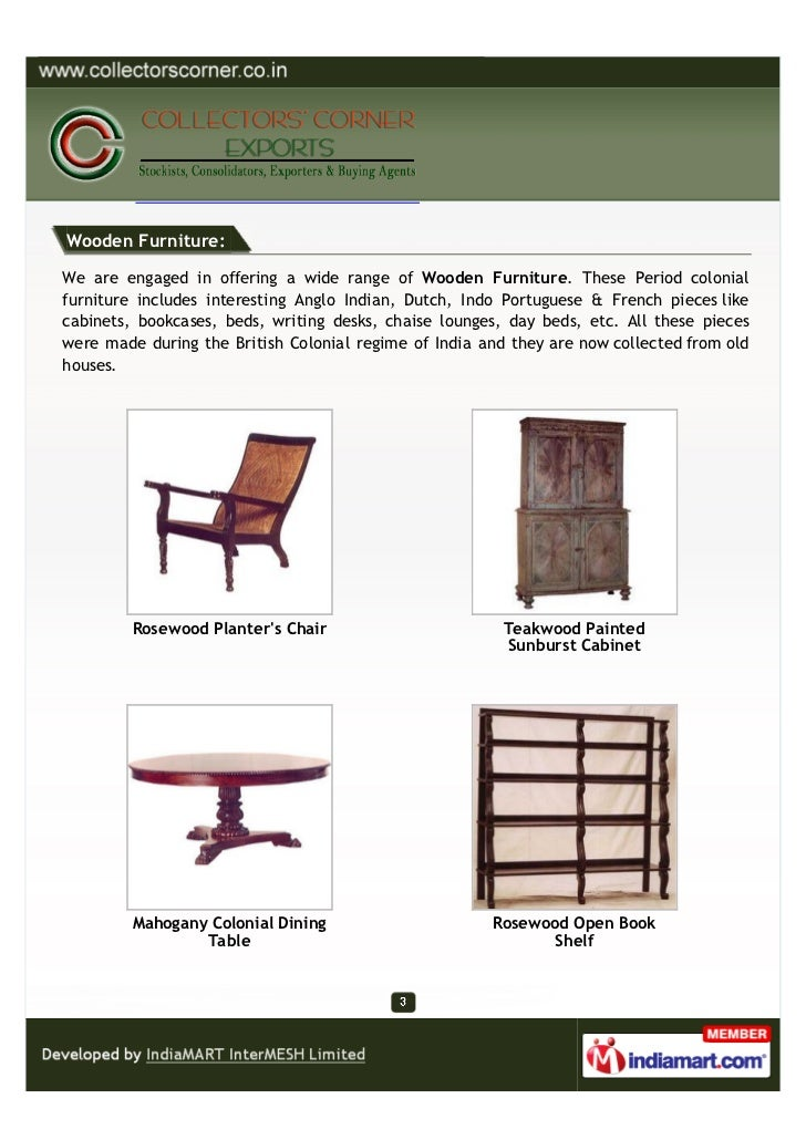 Collectors Corner Exports, Mumbai, Wooden and Other Decorative Products Slide 3