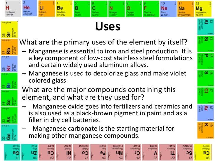 Manganese (Colleen McKiernan)