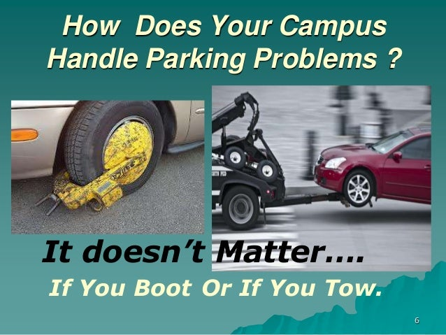 parking problems at college Few systematic reports can be found in the literature addressing university or college campus parking problems (shang et al, 2007, p 135) however, universities seem particularly well suited for a tdm strategy that props up cost-effective solutions to parking problems ( shannon et al, 2006 .