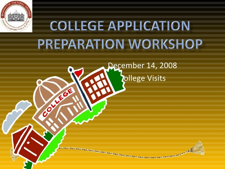 December 14, 2008 College Visits
