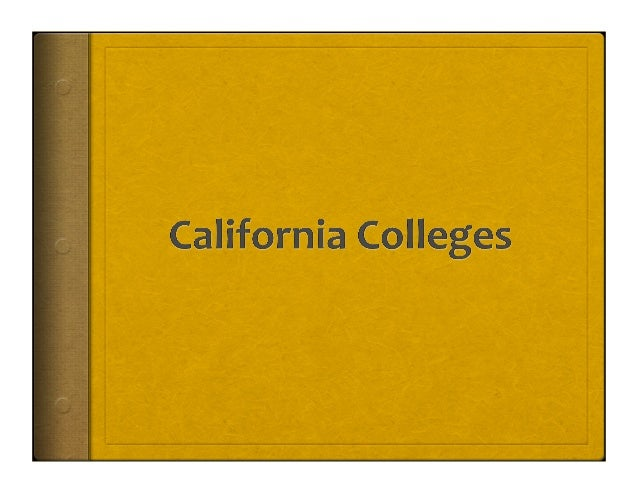 2  The Four Systems of Higher Education in California