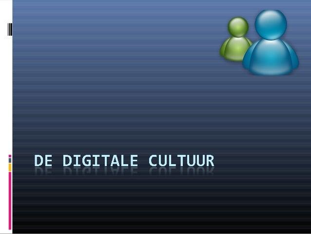 Doel De online cultuur leren kennen om uiteindelijk beter de online communicatiestrategie te bepalen •College 3 •2•January...