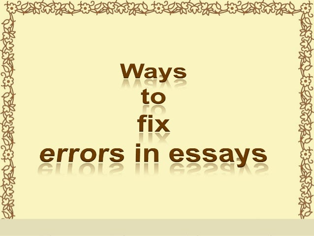 The professional essay correction service for students who can't even.