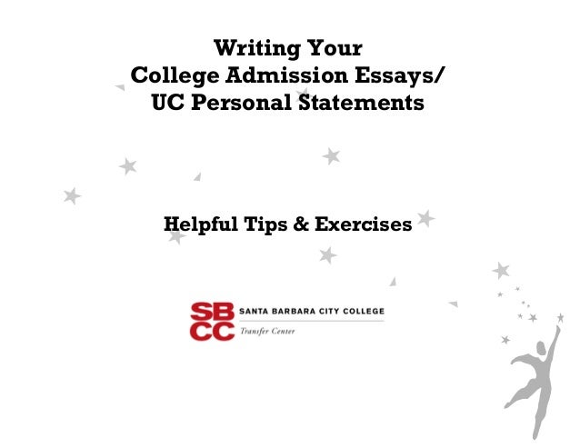 College admisson essay workbook