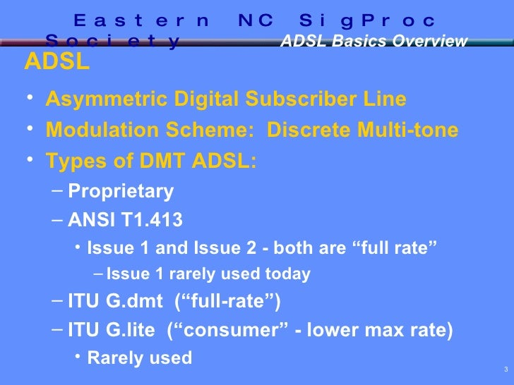 DSL - Basics