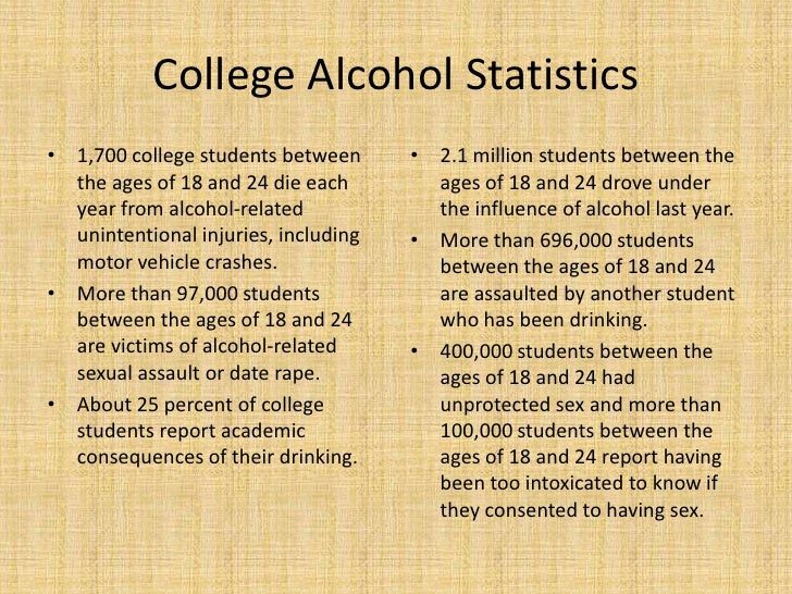 the solutions to college drinking The percentage of college students who binge drink is declining, but  to college  drinking and to identify possible solutions, the author of the.
